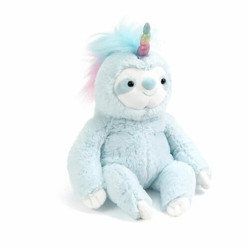 Dazzle Slothicorn 9 Inch Collectible Plush Perspective: front