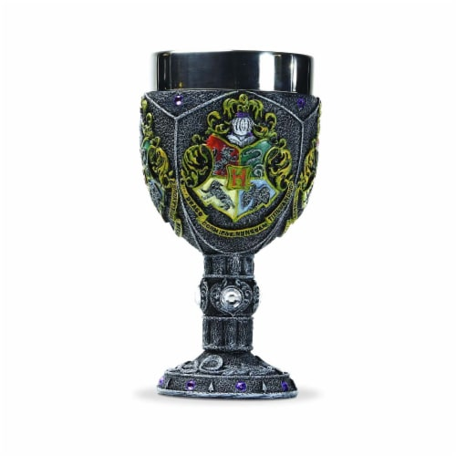 Enesco Wizarding World Harry Potter Hogwarts Decorative Goblet Perspective: front