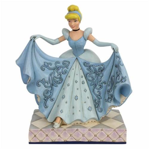 Enesco Disney Traditions Cinderella Transformation Dream Come True Figurine Perspective: front