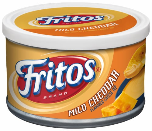 Fritos Mild Cheddar Cheese Dip Perspective: front