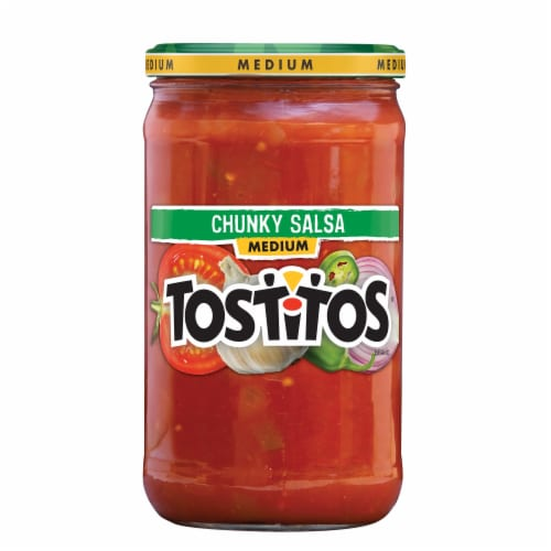 Tostitos Medium Chunky Salsa Dip Perspective: front