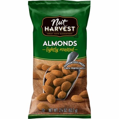 Nut Harvest® Lightly Roasted Almonds Perspective: front