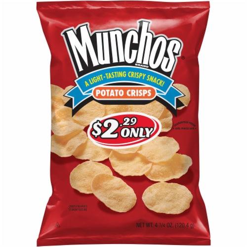 Munchos Original Potato Chip Crisps Snacks Perspective: front