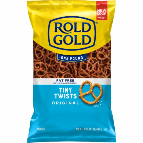 Rold Gold Fat Free Tiny Twists Pretzels Snacks Perspective: front