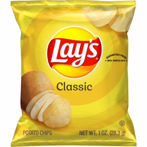 Lay's Classic Potato Chips Perspective: front