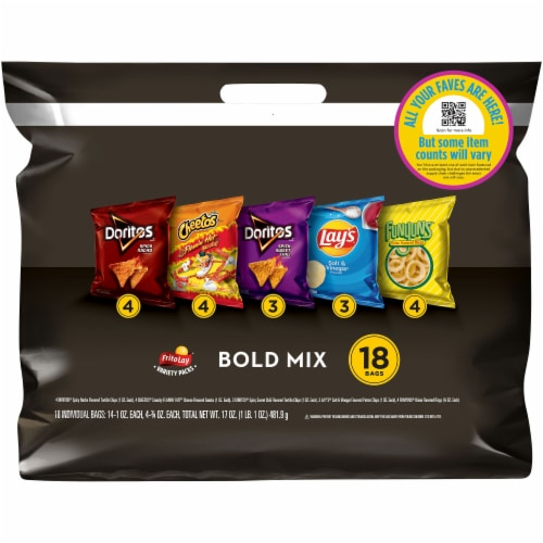 Frito-Lay Bold Snacks & Chips Mix Variety Pack Perspective: front