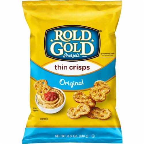Rold Gold Original Thin Crisps Pretzels Perspective: front