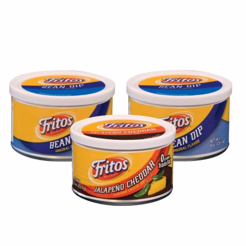 Fritos Dips Variety Pack, 9 Ounce (3 Pack) Perspective: front