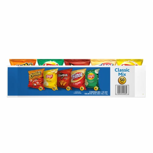 Frito-Lay Classic Mix Variety Pack Perspective: front