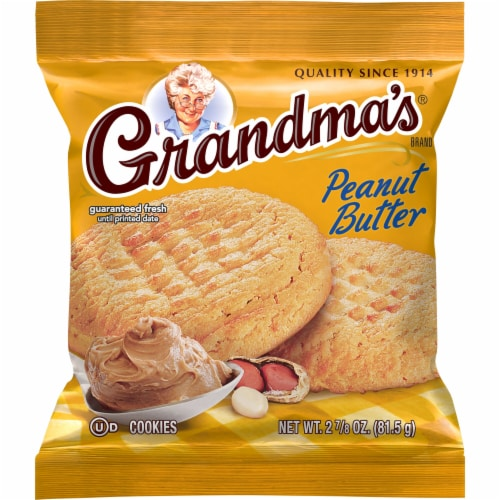 Grandma's Cookies Peanut Butter Perspective: front