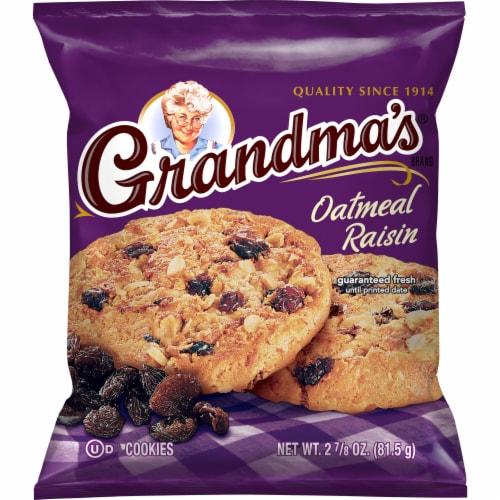 Grandma's Oatmeal Raisin Cookies Perspective: front