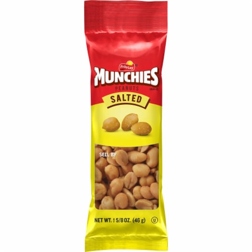 Frito Lay Munchies Salted Peanuts Perspective: front