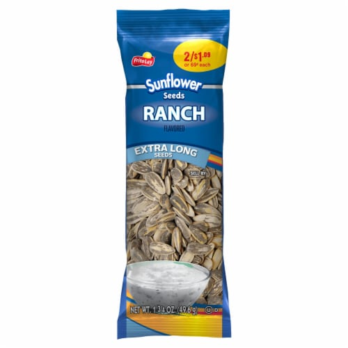 Frito-Lay Ranch Extra Long Sunflower Seeds Perspective: front