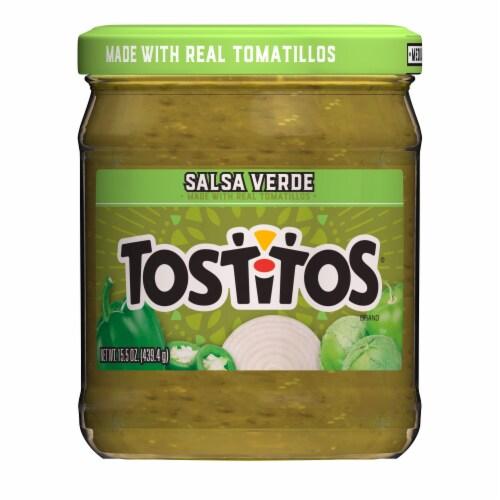 Tostitos Salsa Verde Salsa Dip Perspective: front