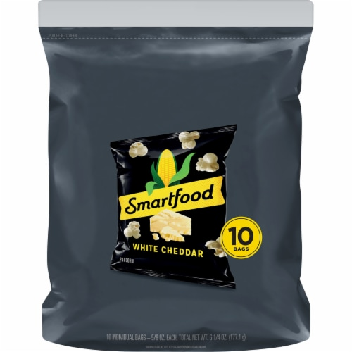 Smartfood Popcorn White Cheddar Snack Perspective: front