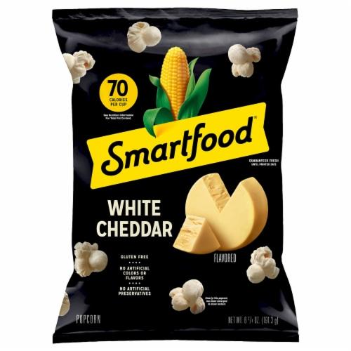 Smartfood White Cheddar Flavored Popcorn Snacks Perspective: front