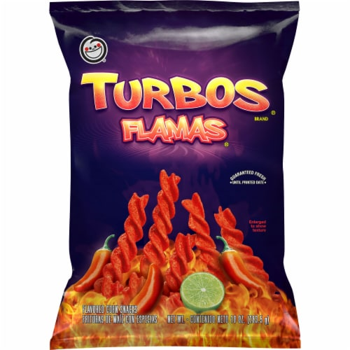 Fritos Turbos Flamas Corn Chips Perspective: front