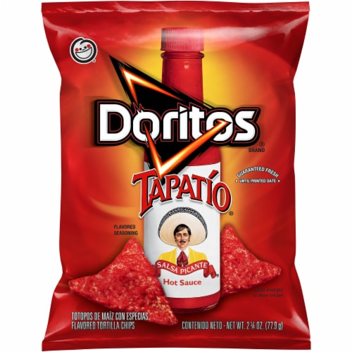 Doritos Tapatio Flavored Torilla Chips Perspective: front