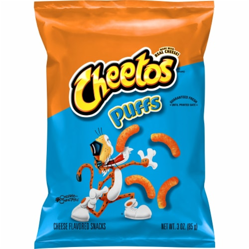 Cheetos Puffs Cheese Flavored Snacks Perspective: front