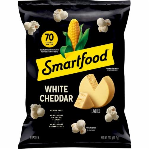 Smartfood Popcorn White Cheddar Flavored Snacks Perspective: front