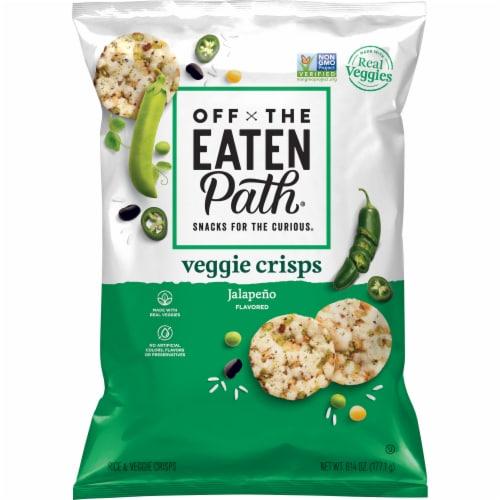 Off the Eaten Path Jalapeno Veggie Crisps Perspective: front