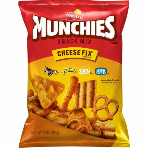 Munchies Cheese Fix Snacks & Chips Mix Perspective: front