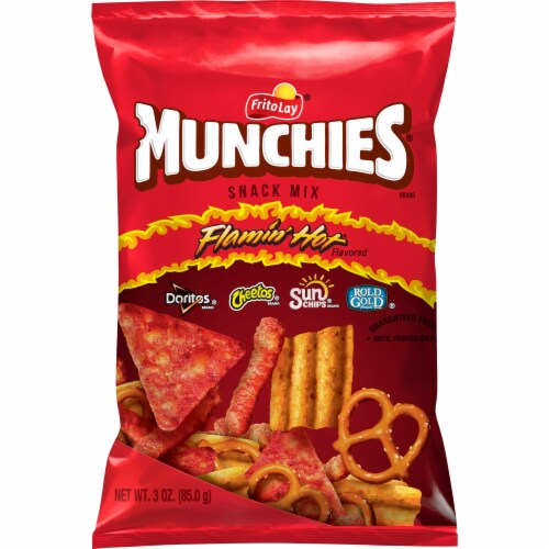 Munchies Snack Mix Flamin' Hot Flavor Perspective: front