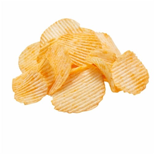 Ruffles Cheddar Sour Cream Potato Chips, 1.5 Ounce -- 64 per case. Perspective: front