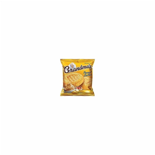 Grandmas Homestyle Big Peanut Butter Cookie, 2.5 Ounce -- 60 per case. Perspective: front