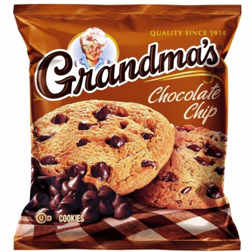 Grandmas Homestyle Big Chocolate Chip Cookie, 2.5 Ounce -- 60 per case. Perspective: front