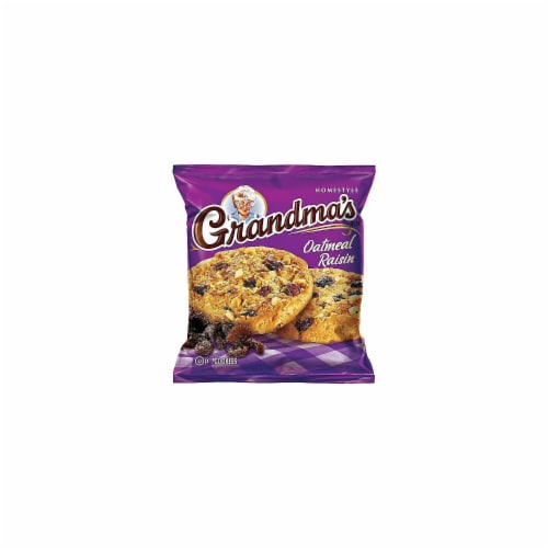 Grandmas Homestyle Big Oatmeal Raisin Cookie, 2.5 Ounce -- 60 per case. Perspective: front