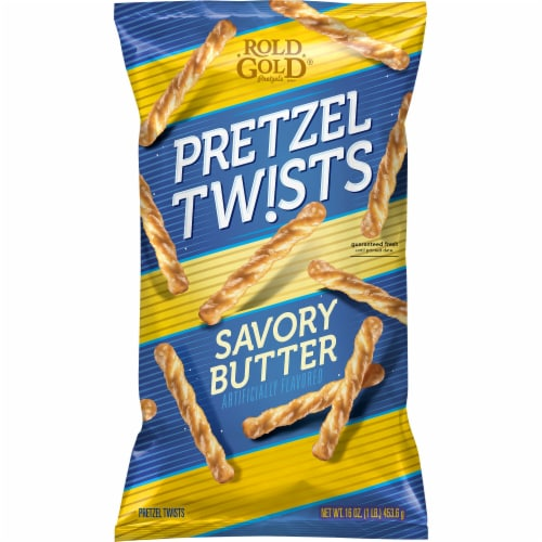 Rold Gold No 5 Savory Butter Pretzels Perspective: front
