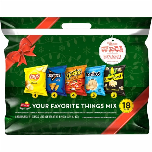 Frito-Lay Your Favorite Things Mix Snack Variety Pack Perspective: front