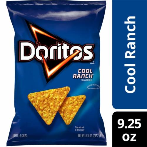 Doritos Cool Ranch Tortilla Chips Perspective: front
