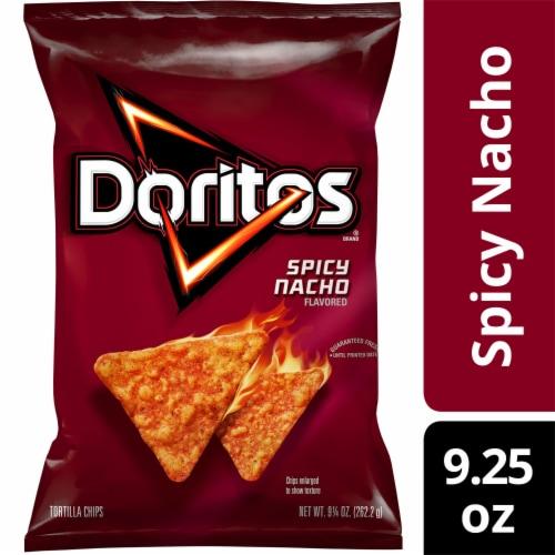 Doritos® Spicy Nacho Flavored Tortilla Chips Perspective: front