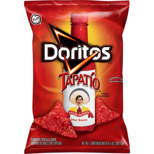 Doritos Tapatio Flavored Tortilla Chips Perspective: front