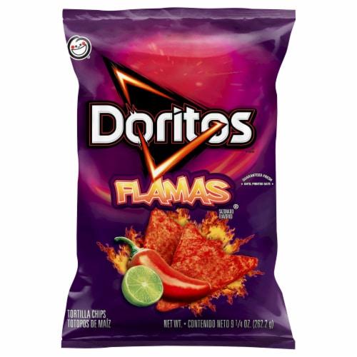 Doritos Flamas Tortilla Chips Perspective: front