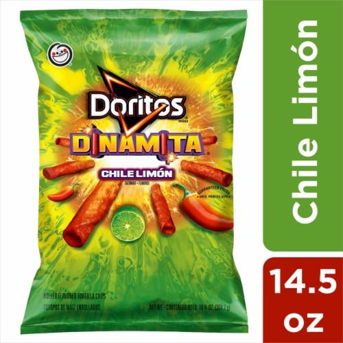 Doritos Dinamita Chile Limon Tortilla Chips Perspective: front