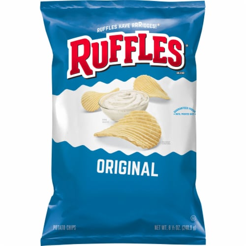 Ruffles Original Potato Chips Perspective: front