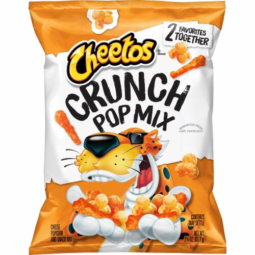 Cheetos Crunch Pop Snack Mix Perspective: front