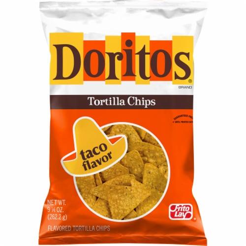 Doritos Taco Flavor Tortilla Chips Perspective: front