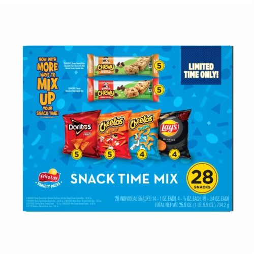 Frito-Lay Snack Time Mix Variety Pack Perspective: front