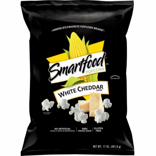 Smartfood White Cheddar Popcorn (17 Ounce) Perspective: front