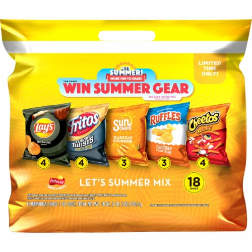 Frito-Lay Snacks Summer Favorites Mix Perspective: front