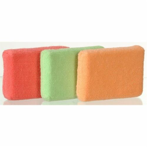 Casabella Shiny Microfiber Sponges Perspective: front