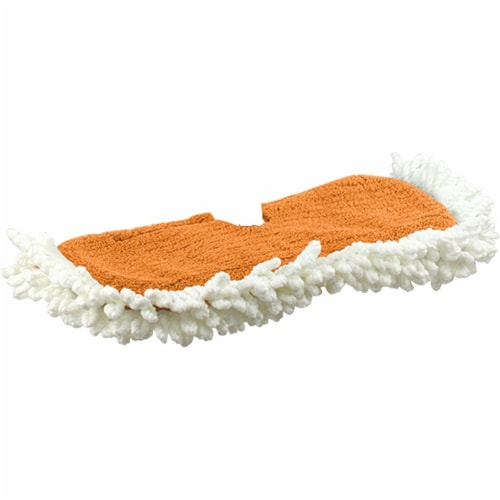 Casabella Microfiber Single Refill Cleaning Head for Flip Floor Duster Perspective: front