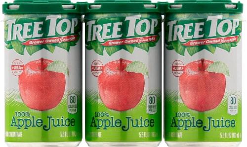 Tree Top Apple Juice Perspective: front