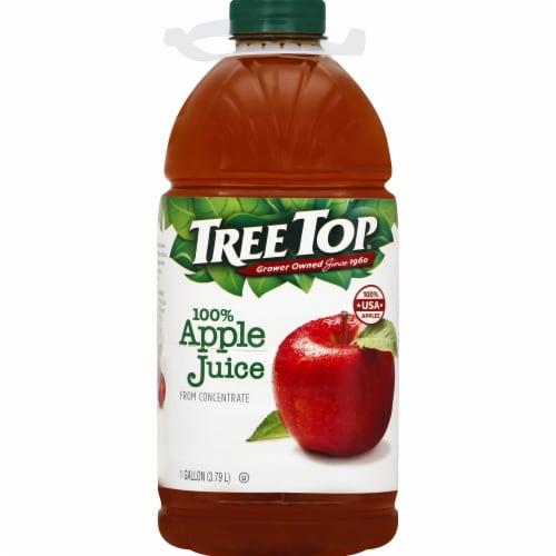 Tree Top 100% Apple Juice Perspective: front