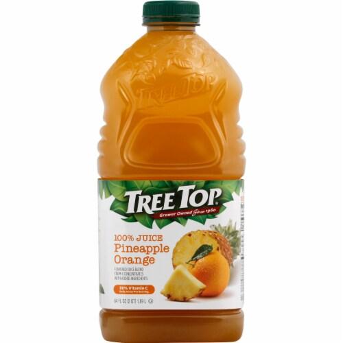 Tree Top Pineapple Orange 100% Juice Perspective: front