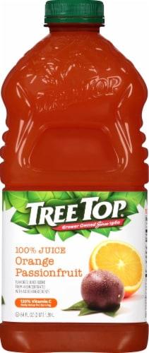 Tree Top Orange Passionfruit Juice Perspective: front